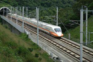 A Bullet Train in Taiwan