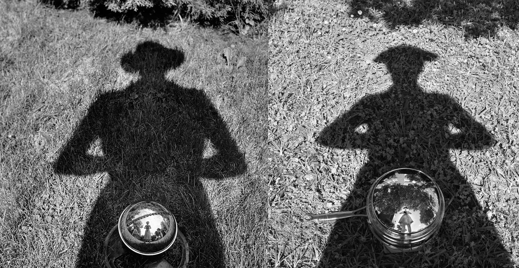 Vivian Maier self-portrait pastiche